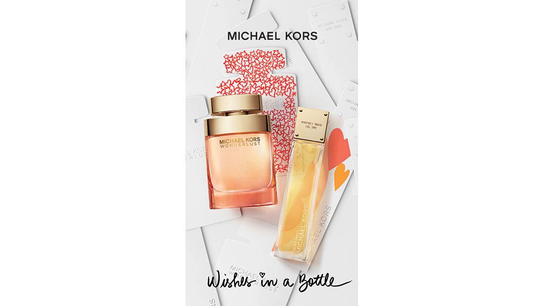 O οίκος Michael Kors παρουσιάζει το Wishes in a Bottle