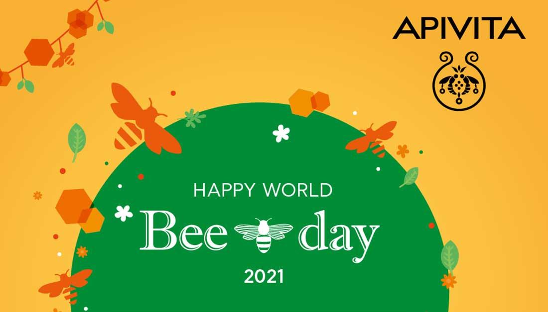 Η Apivita γιορτάζει την Παγκόσμια Ημέρα Μέλισσας