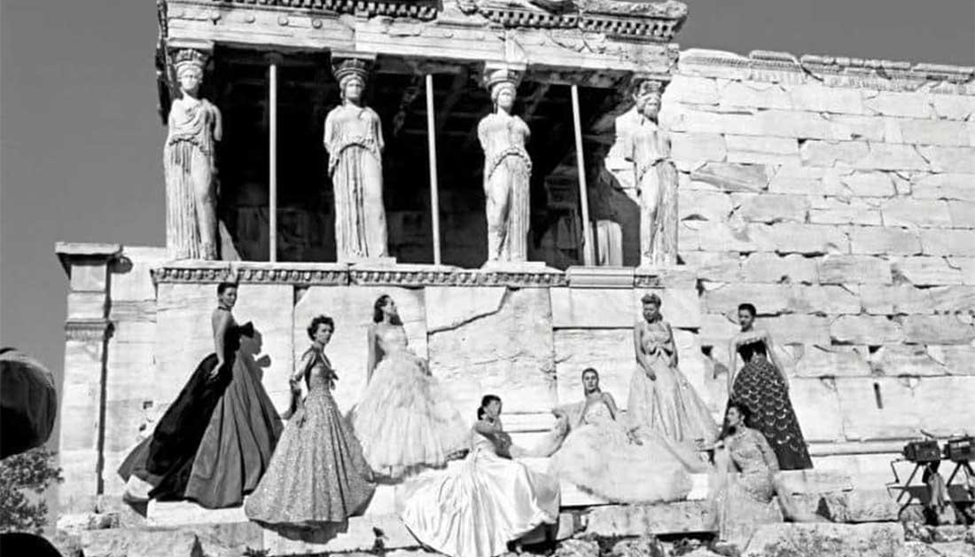 «Πράσινο φως» για τις φωτογραφίσεις του οίκου Dior σε αρχαιολογικούς χώρους