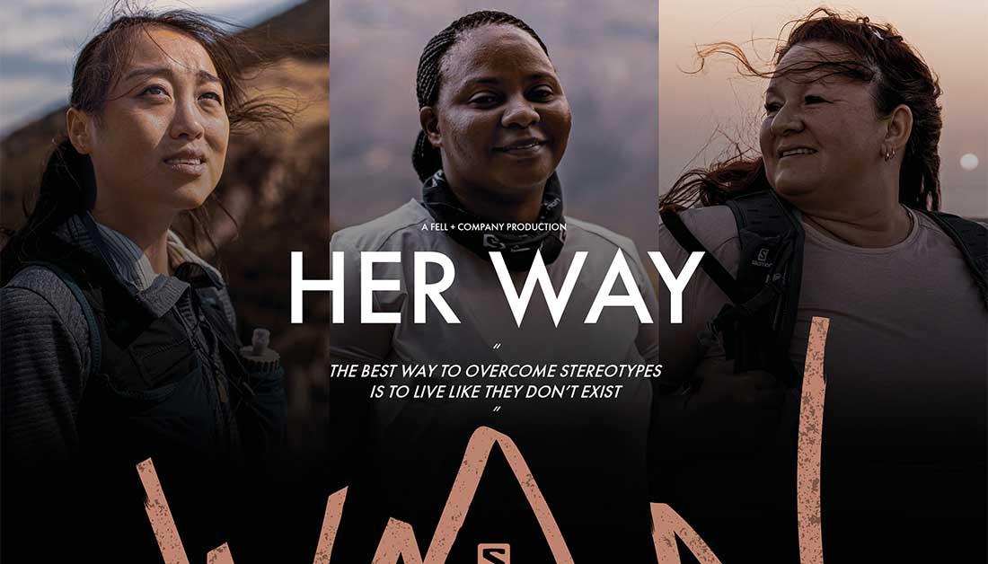 «Her Way» η νέα καμπάνια της Salomon