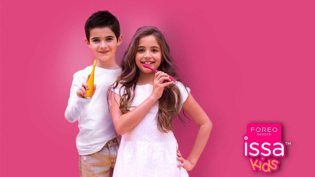 Nέα προϊόντα στοματικής φροντίδας για παιδιά από τη Foreo