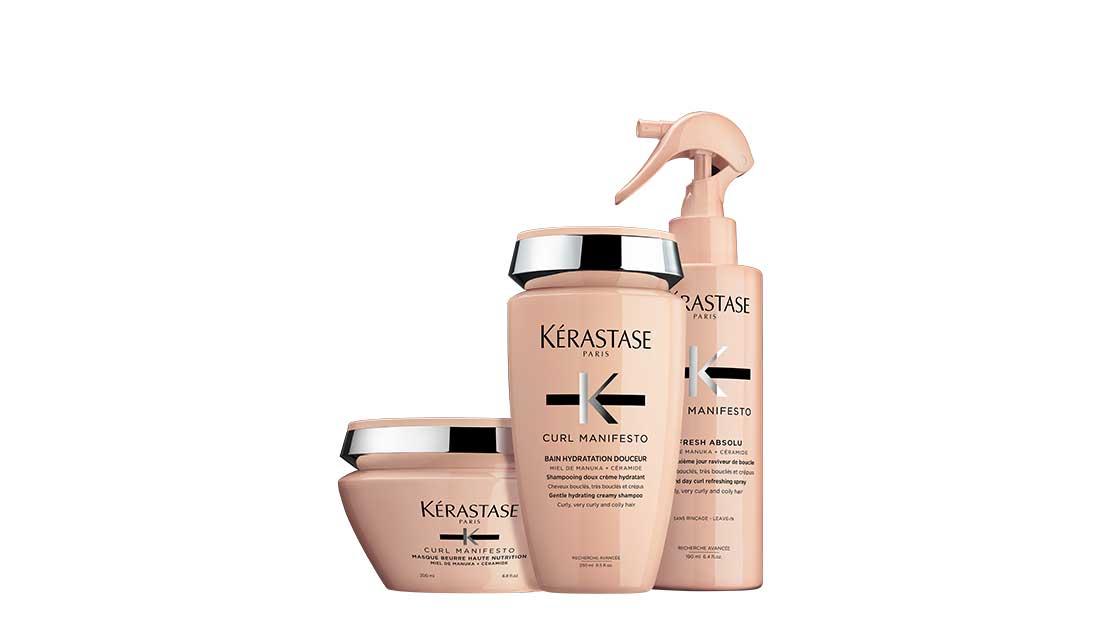 Curl Manifesto, νέα σειρά για σγουρά μαλλιά από την Kerastase