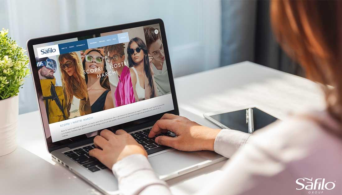 Το νέο της εταιρικό website λανσάρει η Safilo