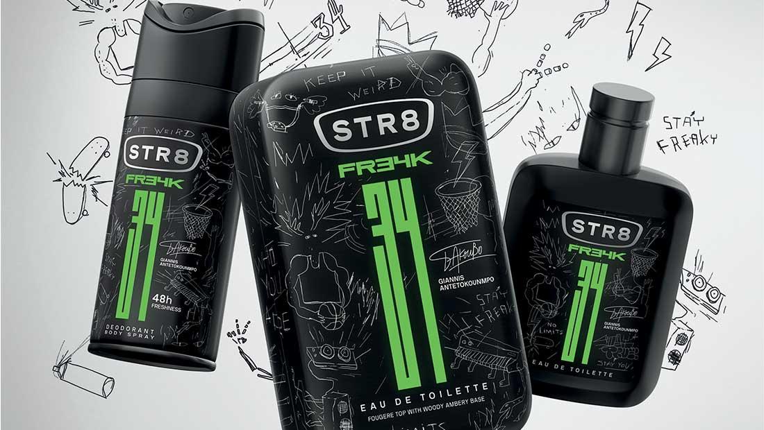 Το άρωμα FR34K λανσάρει το STR8