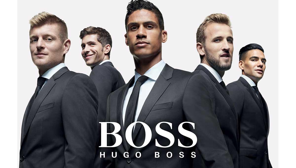 Αφιερωμένη στο ποδόσφαιρο η καμπάνια «Unite to Celebrate» της Boss Parfums
