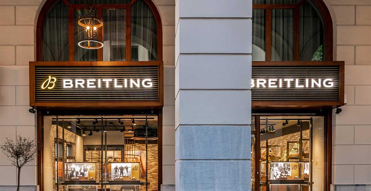 Ανοίγει ξανά η boutique της Breitling Hellas στο κέντρο της Αθήνας