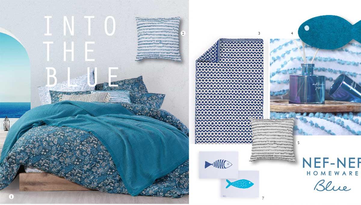 Εμπνευσμένη από το καλοκαίρι η συλλογή Blue της Nef-Nef