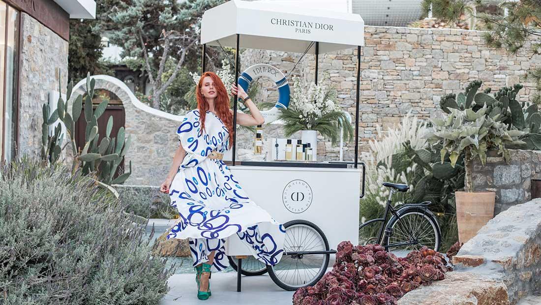 Η υψηλή αρωματοποιία του Dior στη Μύκονο