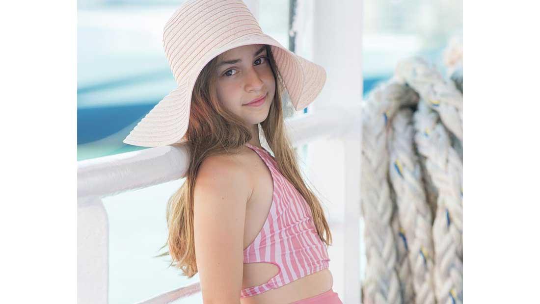 «Salty miss flamingo kids» η νέα συλλογή μαγιό της miss flamingo kids