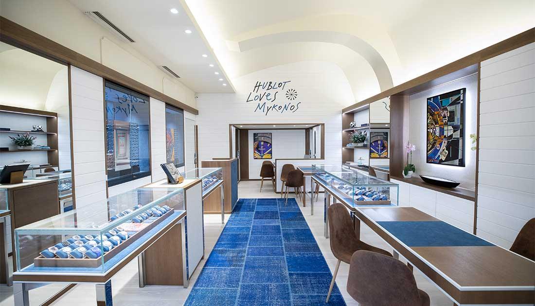 Εγκαινιάστηκε η νέα Hublot boutique στη Μύκονο