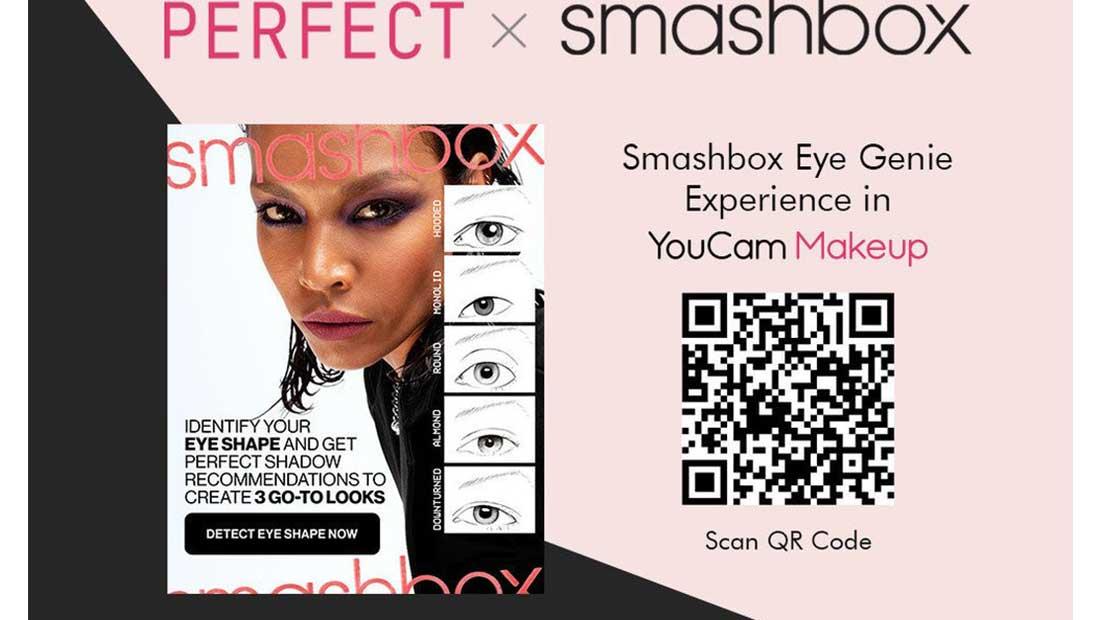 Smashbox και Perfect Corp. λανσάρουν πρωτοποριακή εφαρμογή μακιγιάζ