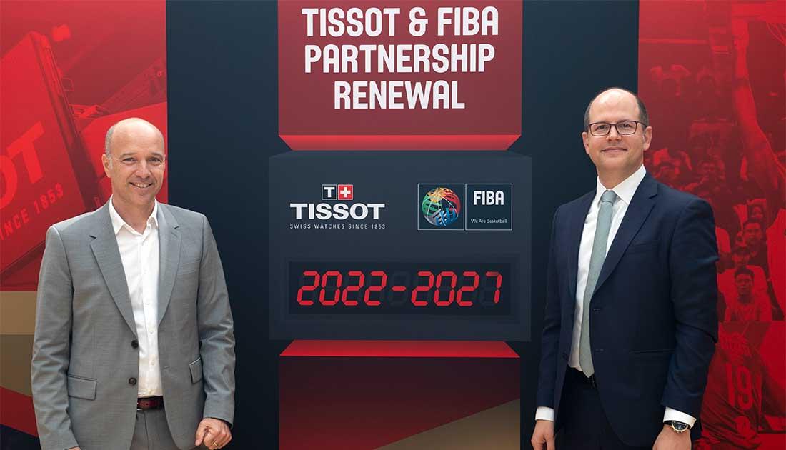 Επεκτείνει τη συνεργασία της με τη FIBA η Tissot