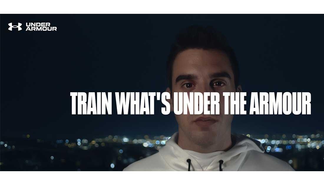 Στην καμπάνια «Train What's Under The Armour» συμμετέχει ο Αύγουστος Πανταζίδης