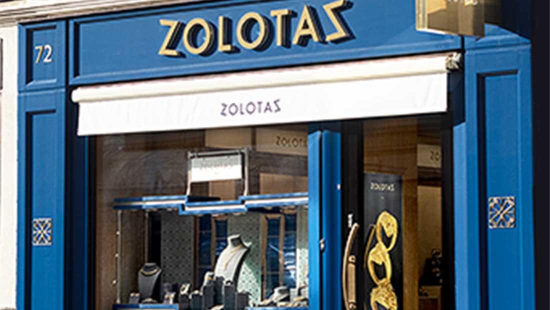 Το νέο του κατάστημα στο Παρίσι εγκαινίασε ο οίκος Zolotas