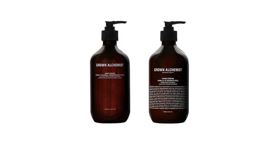 Δύο νέα προϊόντα περιποίησης και καθαρισμού χεριών από την Grown Alchemist