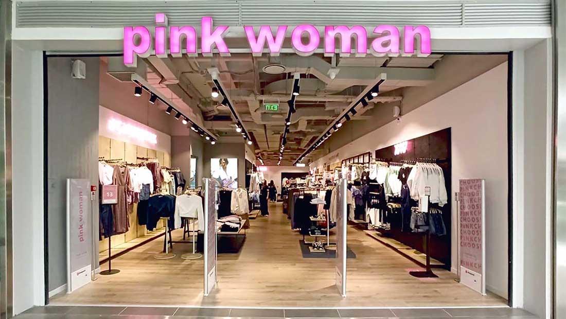 Νέο flagship store της Pink Woman στο Athens Metro Mall